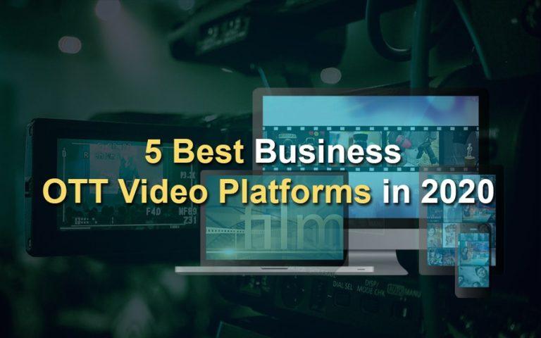 Top 5 Best OTT Video Platforms in India
