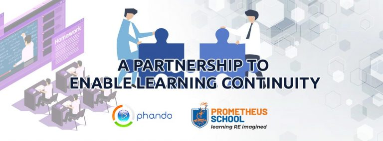 A partnership to enable learning continuity