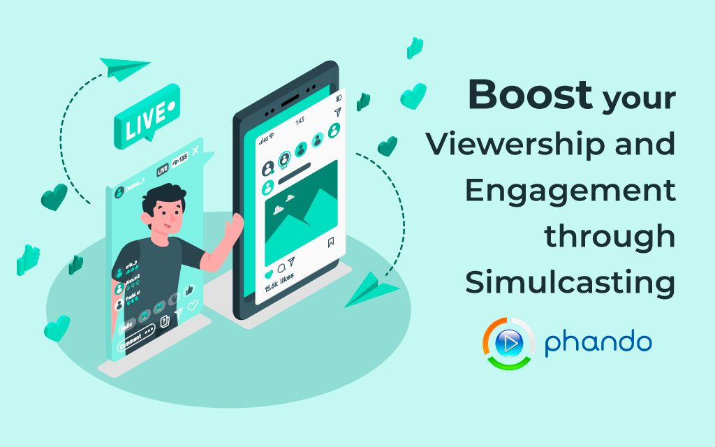 Boost live streaming reach and engagement through simulcasting