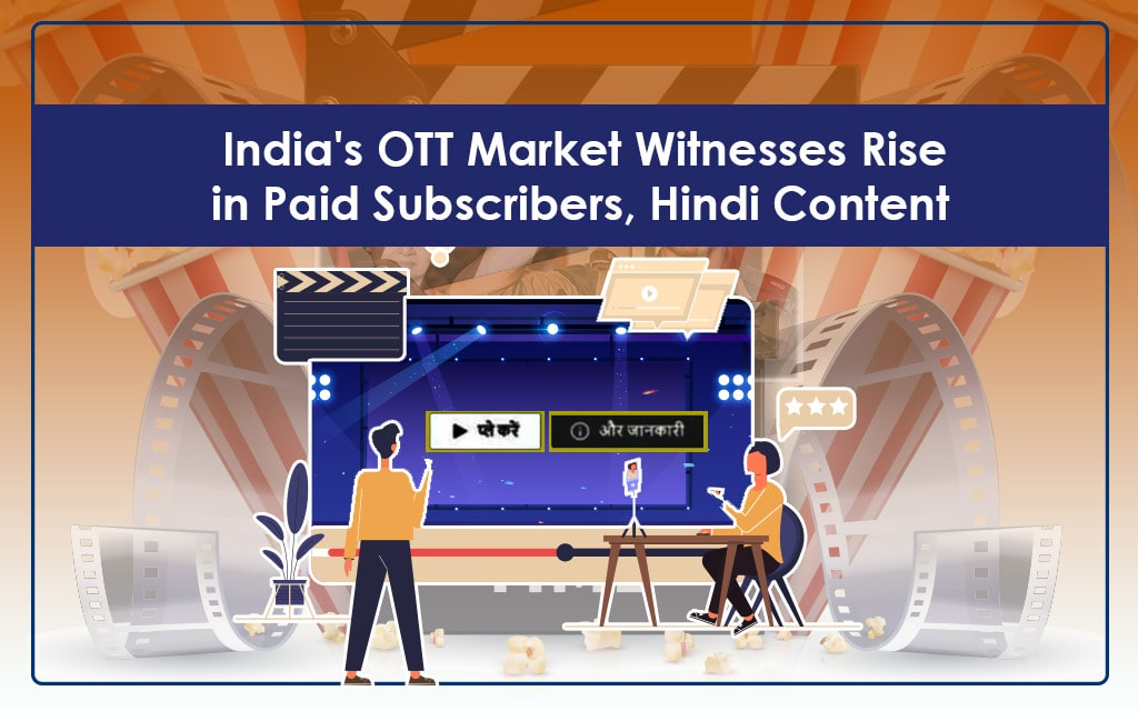 Popularity of Hindi content across OTT platforms